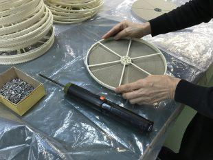除湿機用の吸湿ローターAssy製造