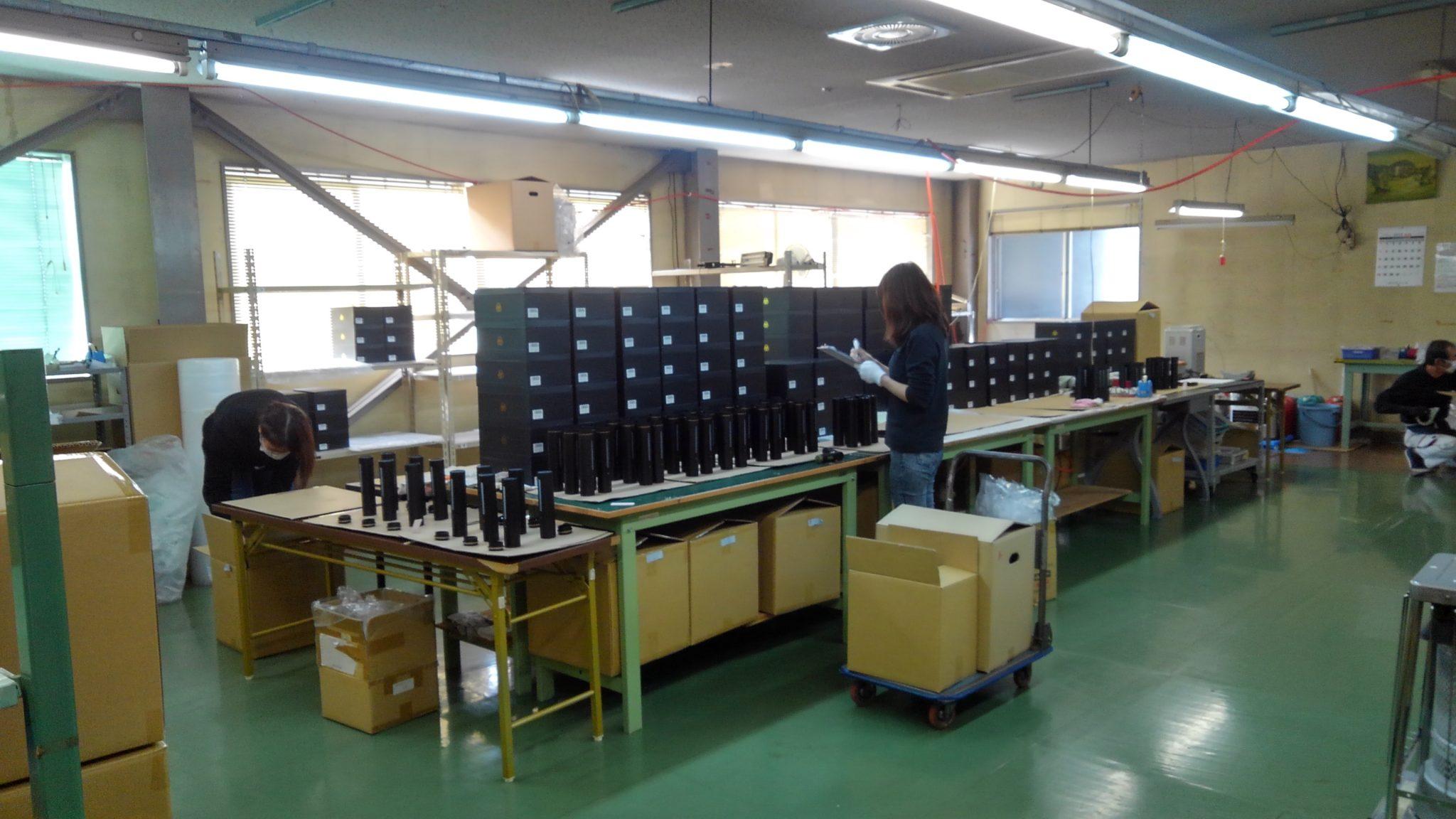 機能水生成器をセミノックダウン方式を採用して生産しています