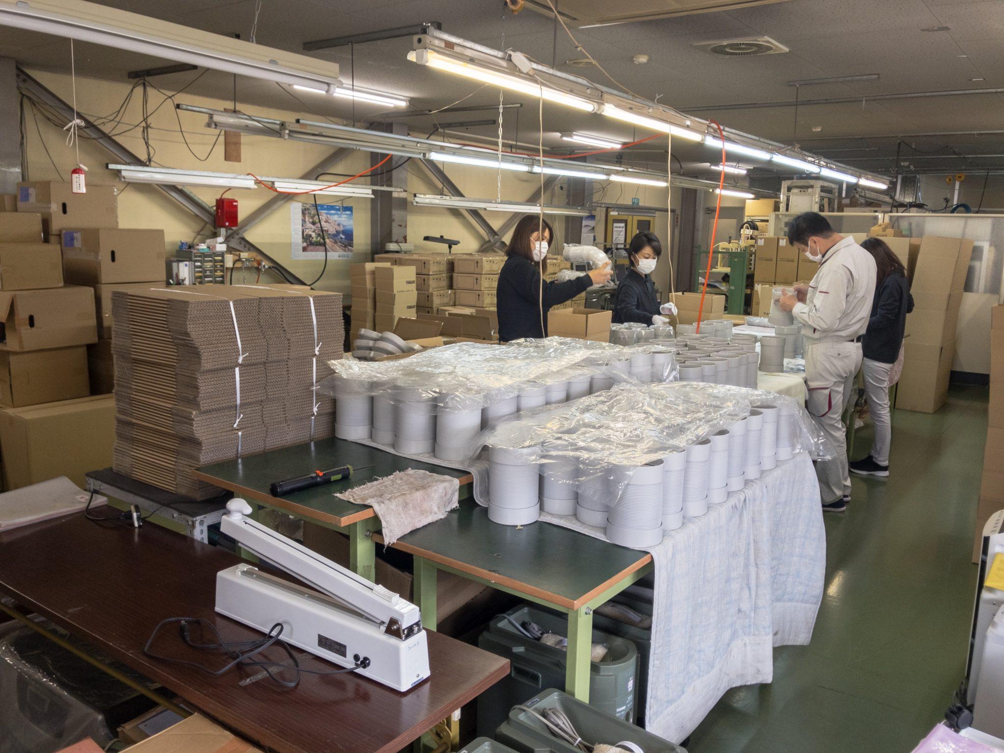 小口にも対応した発送代行 製品検査・再加工・セット梱包作業