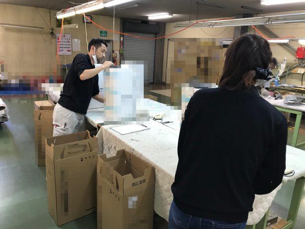 家電メーカー様の製品検査(必要な物を選ん委託する代行業務)