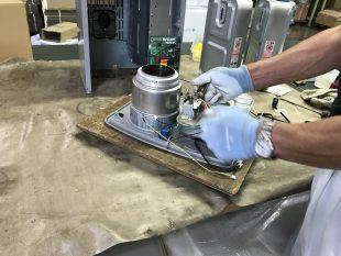 今年も少しづつ石油暖房機器の修理が増えてきました