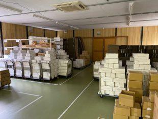 今年最後の定期発送代行サービスの出荷業務