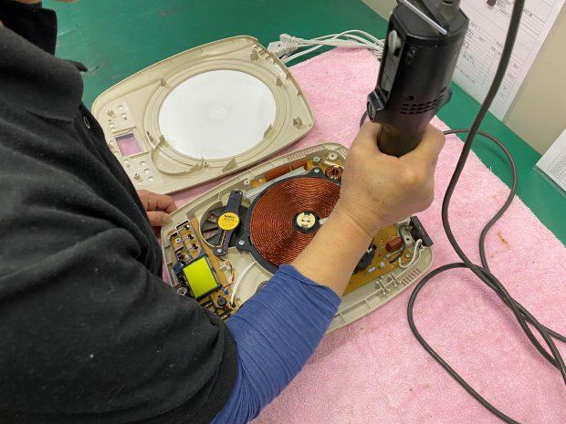 IH調理器の修理 家電修理センターの業務代行