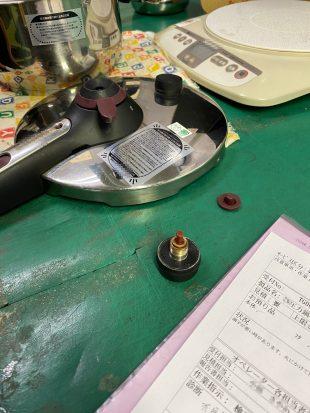 圧力鍋の修理(アフターサービス部門の業務委託)