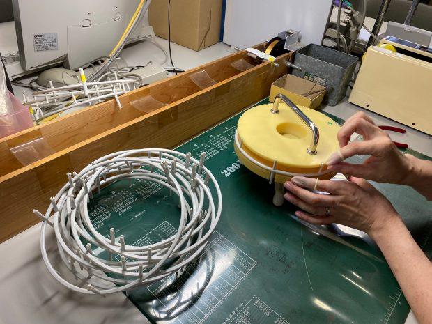国内メーカー様の空気清浄機の消耗部品製造