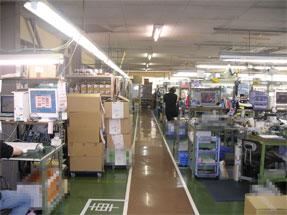 本社工場内で運営していたプリンタ修理センター部門