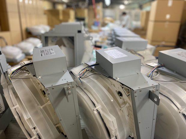 製造、石油暖房機器修理、プリンタ修理部門ロジスティクス課の新設