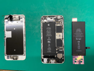 iPhone6Sバッテリー交換ご依頼いただきました【松本市波田iPhone修理店舗】