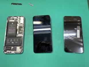 iPhon XS Maxのパネル修理のご依頼を頂きました【松本市波田iPhone修理店舗】