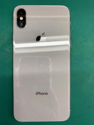 iPhoneXアウトカメラガラス割れ修理(松本市)
