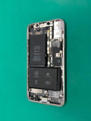 松本市でiPhoneXバッテリー交換
