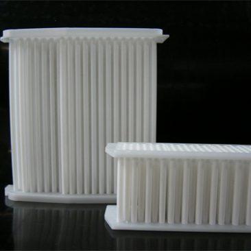 除湿機搭載の小型樹脂性熱交換器
