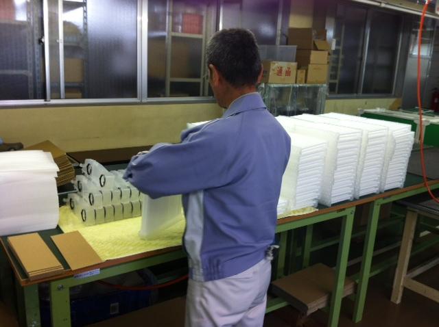 除湿機用小型樹脂性熱交換器生産