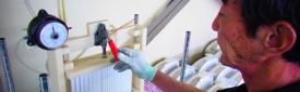 プラスチック熱交換器リーク検査