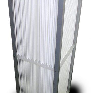 樹脂製熱交換器(氷蓄熱用試作)