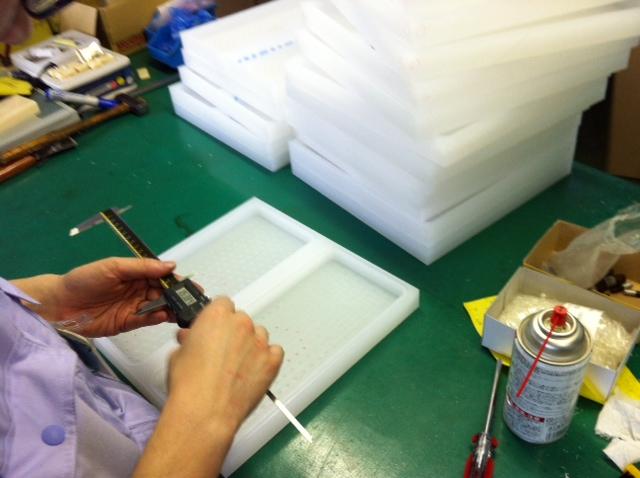 試作品樹脂製熱交換器用ケース