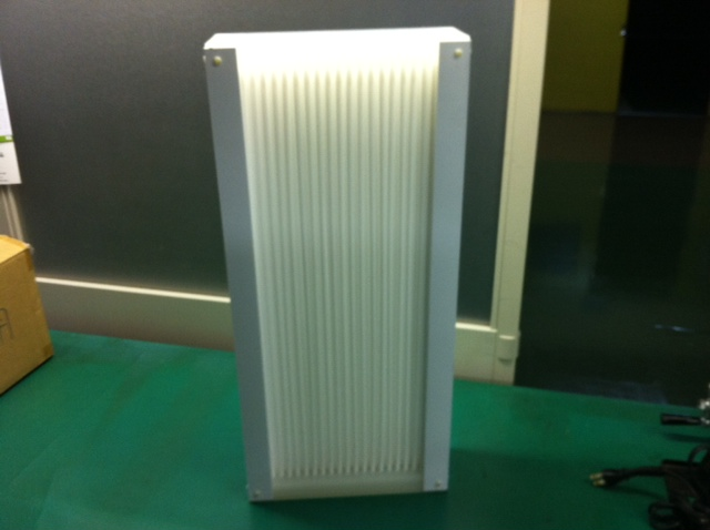樹脂製熱交換器試作品(耐熱試験用)