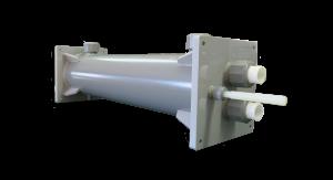樹脂製熱交換器シェル&チューブ(フランジレス)