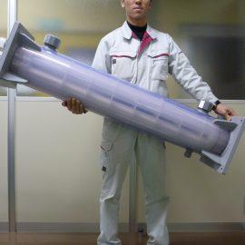 サンニクス 樹脂製熱交換器の特長その3 ~持ち運び可能な熱交換器~