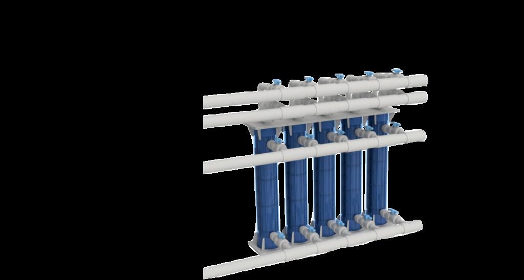 プラスチック熱交換器納品実績