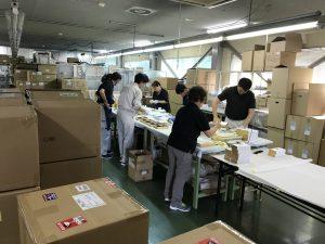 松工生のインターンシップと新規の美容機器製造ライン