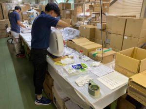 国内メーカー様空気清浄機の小ロット生産